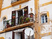 Casco antiguo, Ibiza, España