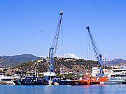 Puerto de Malaga, Malaga, España