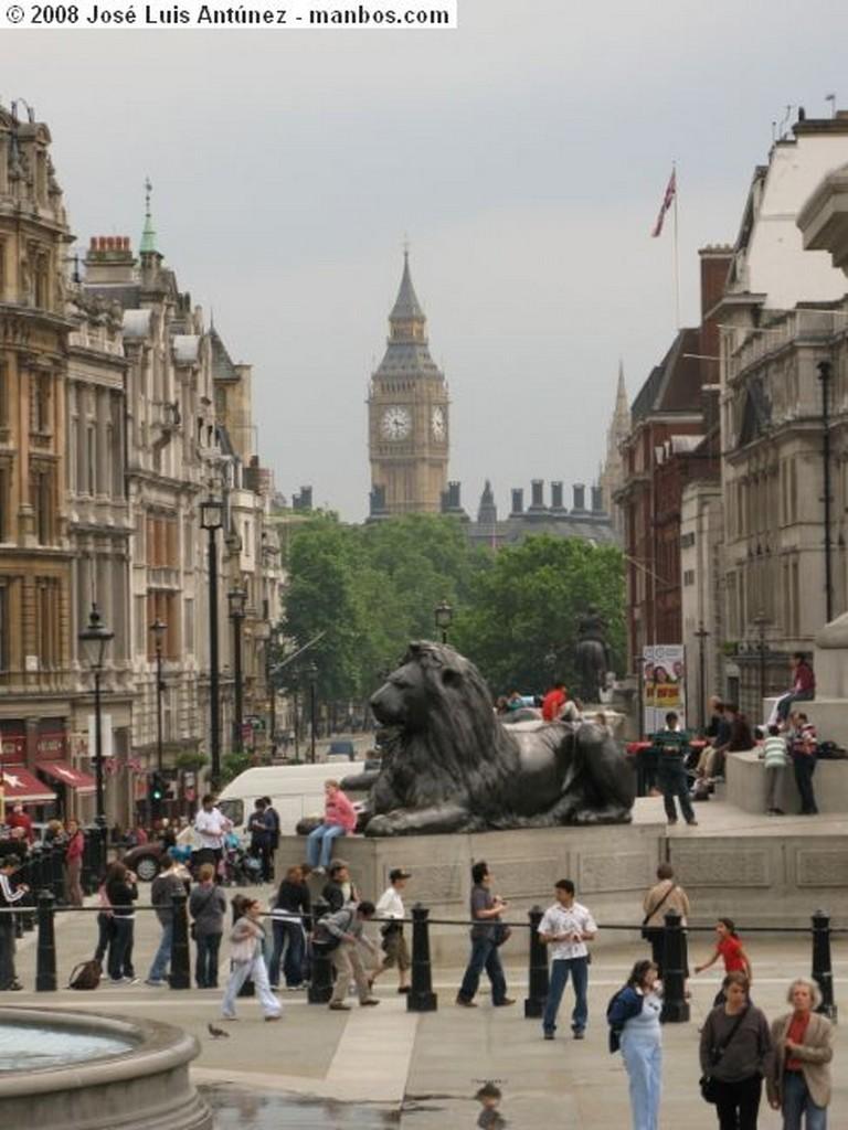 Londres Detalle Entrada Abadia Westminster Londres