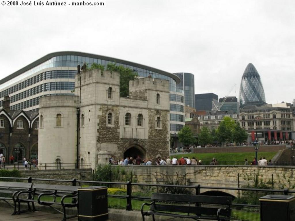 Londres La City desde la Torre de Londres Londres