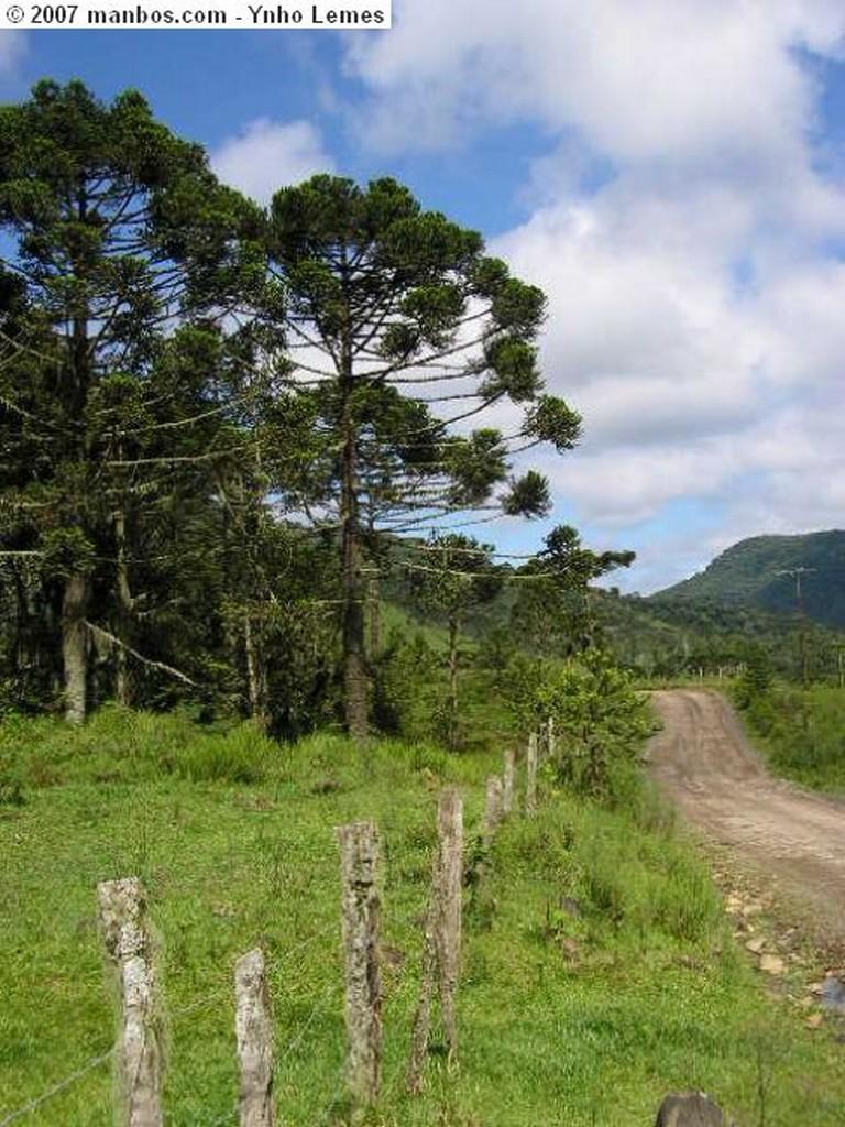 Urubici estrada de terra Santa Catarina