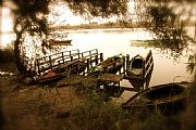 Camara Canon EOS 50D Barcas sobre el  estany  Felipe Baldovi Borras CULLERA Foto: 17886
