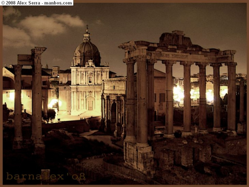 Roma Techos de Iglesia Roma
