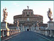 Puente Sobre el Tiber, Roma, Italia