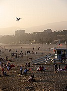 Santa Monica Beach, Los Angeles, Estados Unidos