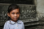 Templo Banteay Srei, Angkor, Camboya