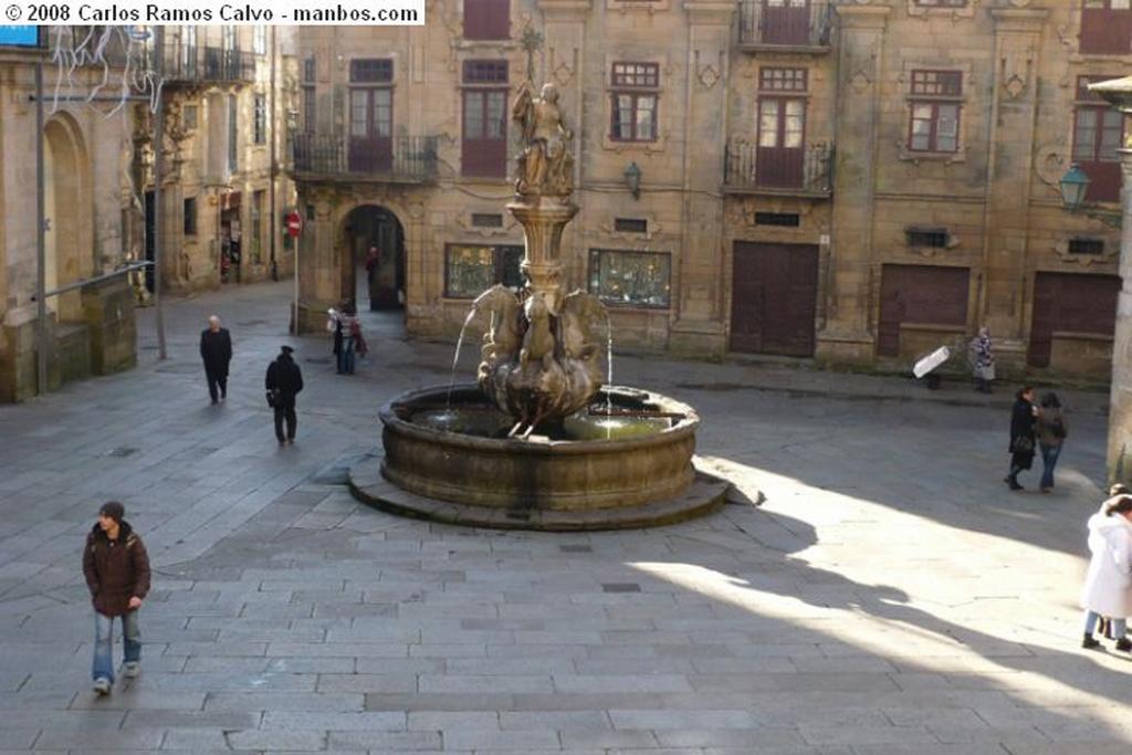 Santiago de Compostela Esculturas La Coruña