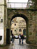 Praza de Mazarelos, Santiago de Compostela, España