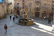 Praza Praterias, Santiago de Compostela, España