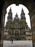 Praza do Obradoiro, Santiago de Compostela, España