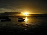 Camara Olympus C310Z Puesta de Sol con barcas Carmen del Olmo Aparicio BAJA CALIFORNIA Foto: 10262