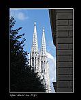 Camara casio QV-R41 Iglesia Votiva Beatriz G.V. VIENA Foto: 5746