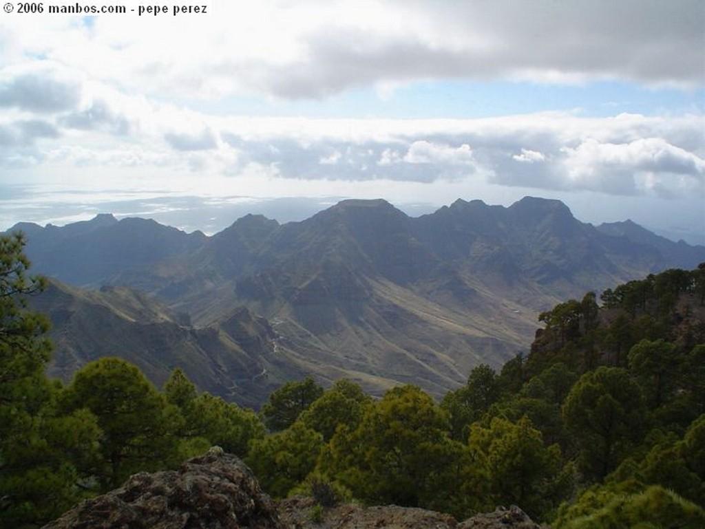 Gran Canaria presa del nublo Canarias