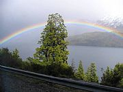 Camera Canon PowerShot S1 IS Arco Iris Daniel Boero Gallery LAGO NAHUEL HUAPI Photo: 5640