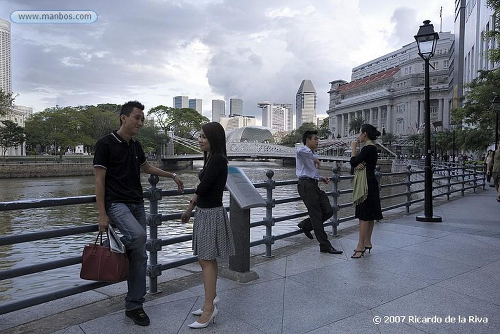 Singapur Distrito Financiero Singapur