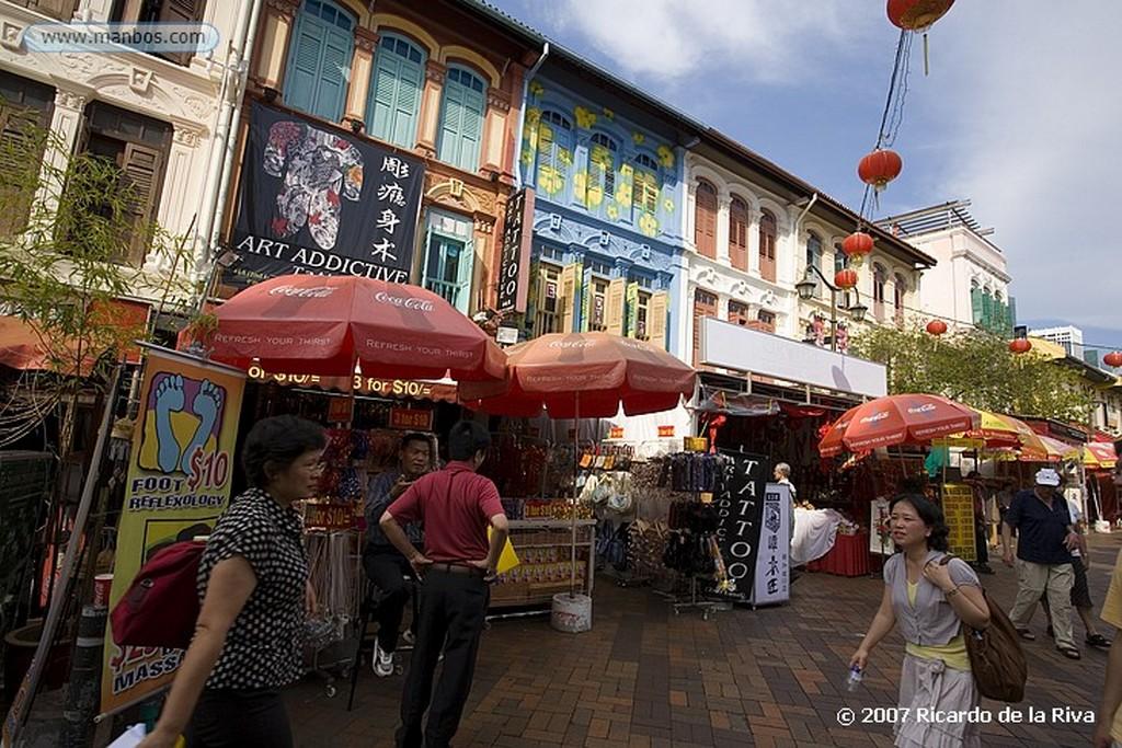 Singapur Chinatown- Temple Street Singapur
