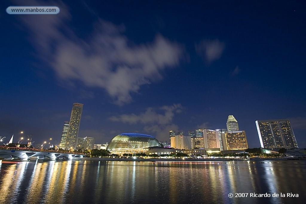 Singapur Merlion Park Singapur