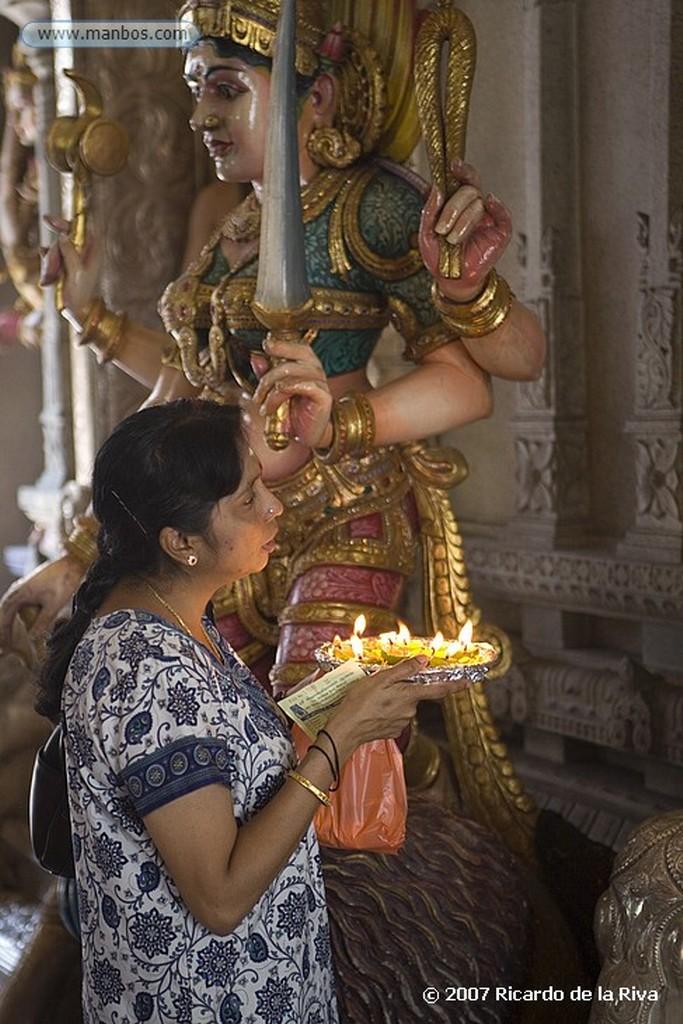 Singapur Little India-Templo Sri Veeramakaliamman Singapur
