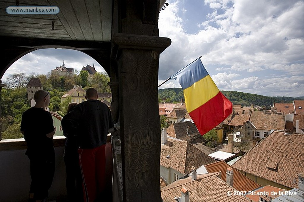 Sighisoara Sighisoara-Torre del Reloj Transilvania