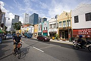 Photo of Singapore, Chinatown, Singapore - Chinatown-South Bridge Road