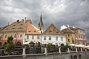 Plaza Menor, Sibiu, Rumania