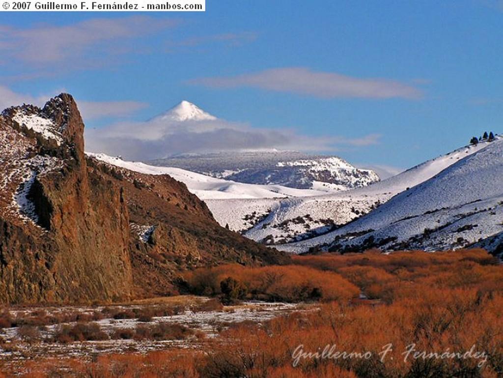 San Martin de los Andes Volcan Lanin Neuquen