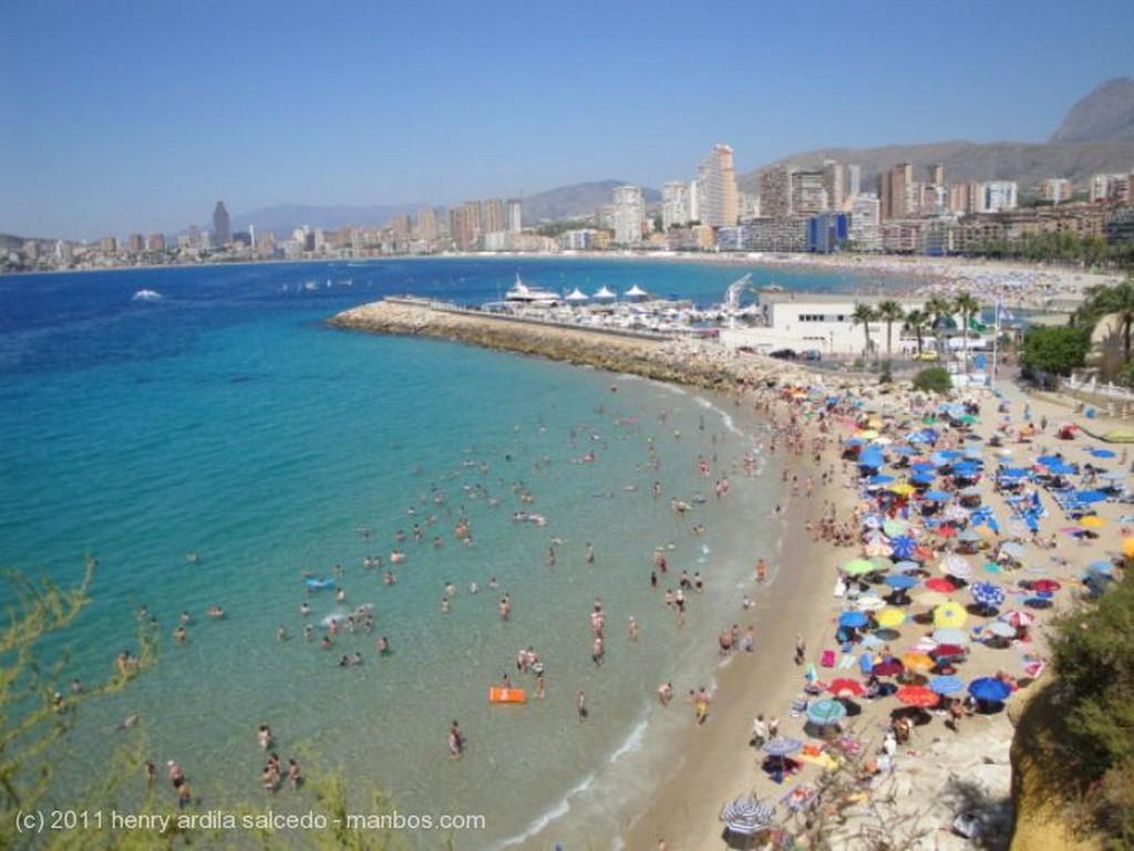 Foto de Benidorm, Mediterraneo, Valencia, España - Playa Este Benidorm