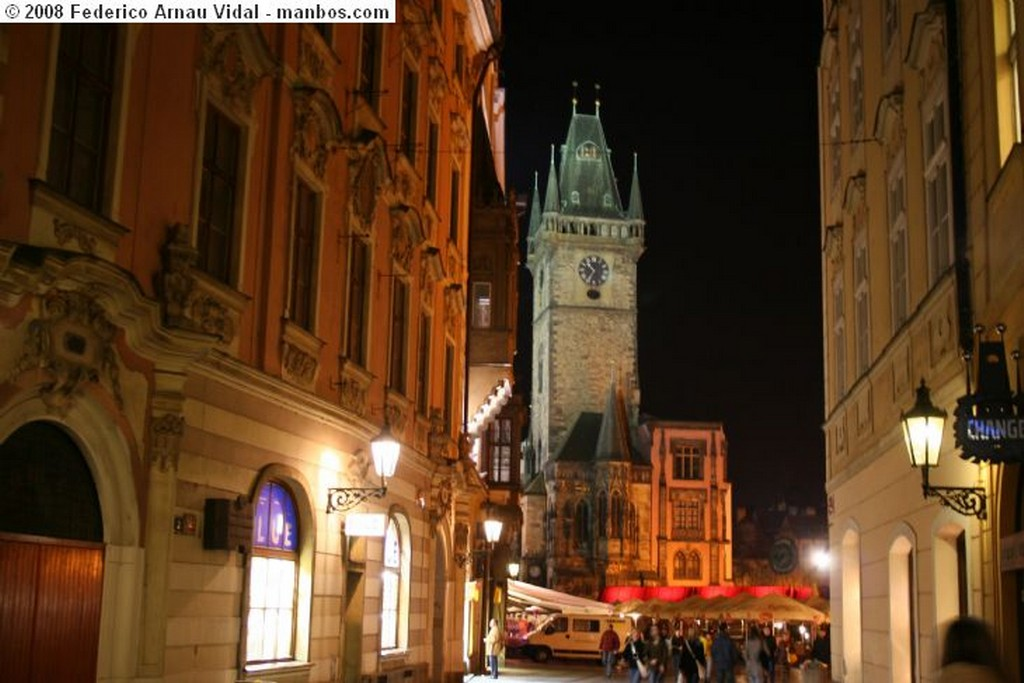 Praga sinagoga en el barrio judio Praga