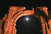 Camara Canon EOS 350D DIGITAL la luna sobre Palmira Federico Arnau Vidal PALMIRA Foto: 17425
