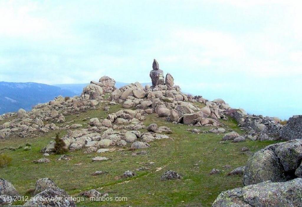 Foto de San Lorenzo de El Escorial, Machota Alta, Madrid, España - Pico del Fraile