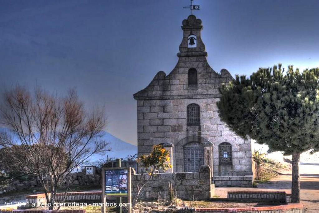 Foto de Galapagar, Parque del Cerrillo, Madrid, España - Ermita de NS del Cerrillo