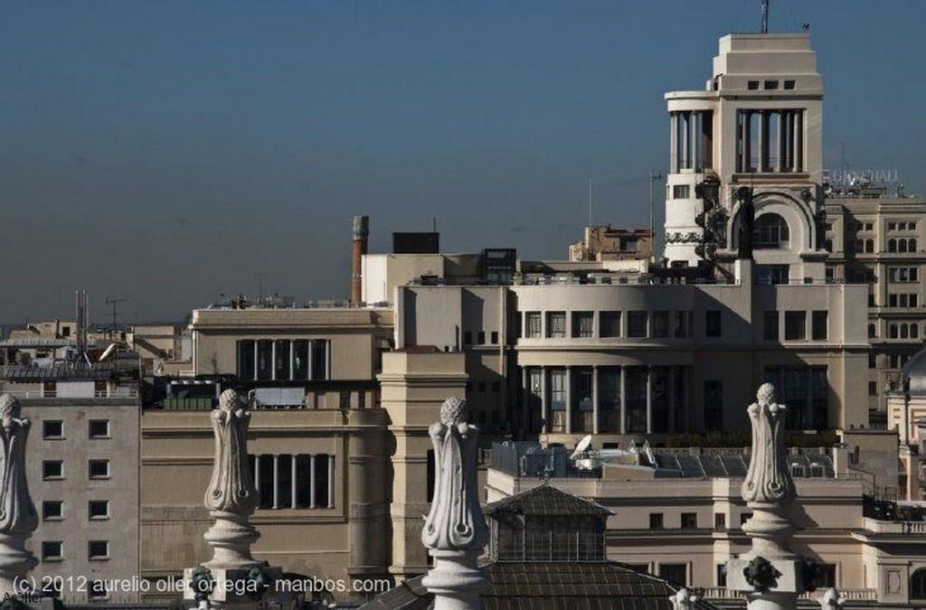 Madrid Estanque del Palacio de Cristal Madrid
