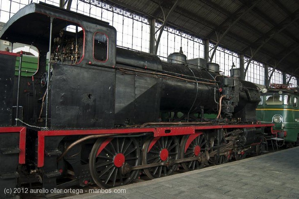 Madrid Museo del Ferrocarril Madrid