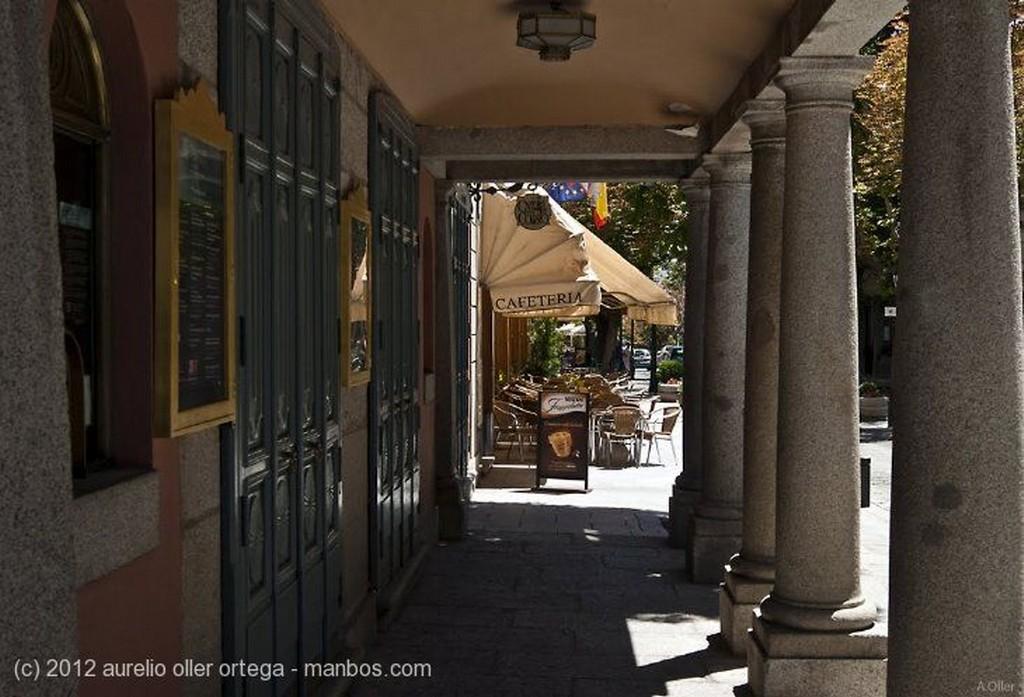 San Lorenzo de El Escorial Acueducto Pinar de Abantos Madrid