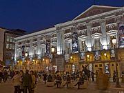 Plaza Santa Ana, Madrid, España
