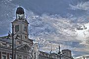 Camara Nikon D60 Reloj de La Puerta del Sol aurelio oller ortega MADRID Foto: 30503