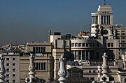 Desde el Mirador del Ayuntamiento, Madrid, España