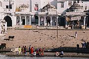 Camara Canon Eos 1v Ghats de Pushkar Francisco Sesé PUSHKAR Foto: 15929