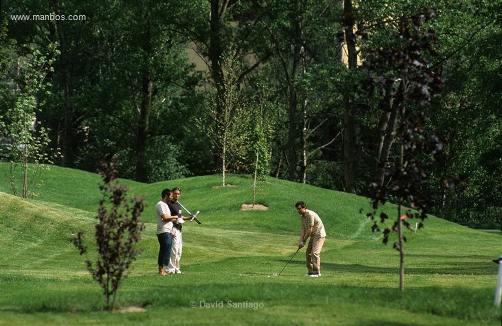 Andorra Campo de golf de La Cortinada Ordino Andorra