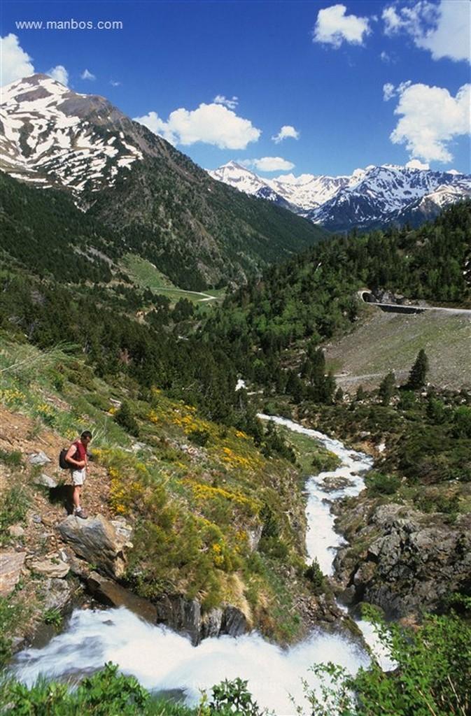 Andorra Riu de Tristaina y Serrat de Coma Obaga y de La Pleta Vella Andorra