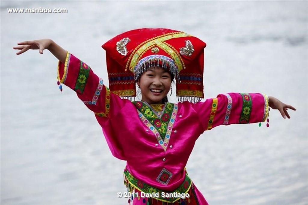 Xingping Li River Guilin  souvenir Shops China Xingping