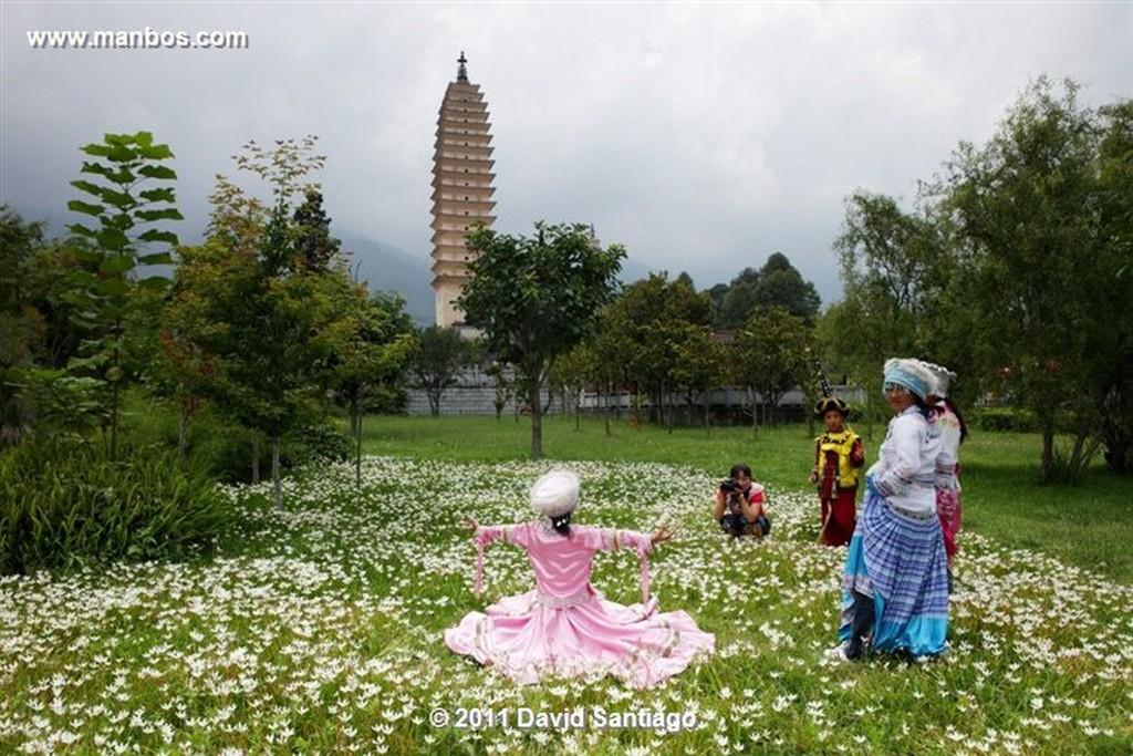Dali China Yunnan Province Dali Dali Old Town China Dali