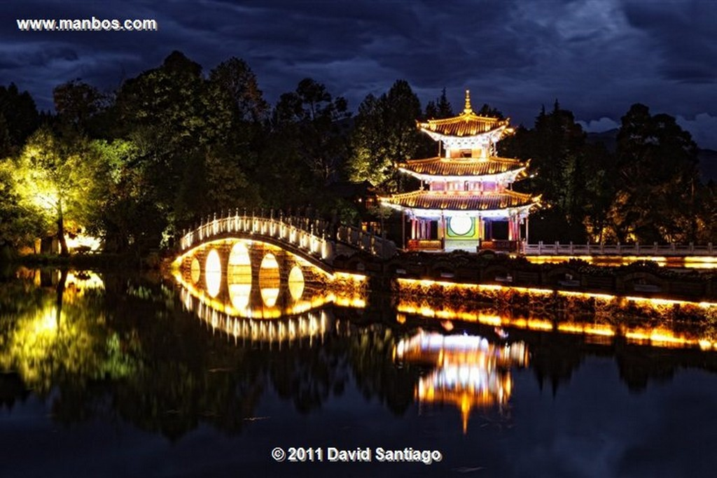 Lijang Pagoda - black Dragon Pool - lijang - yunnan - china Shangri La
