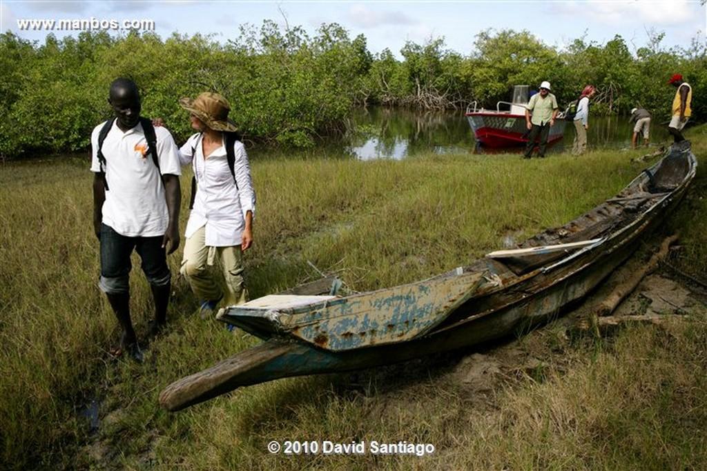 Islas Bijagos  Enfermeria en Eticoga Parque Nacional de Orango Poilao Bijagos Guinea Bissau  Islas Bijagos