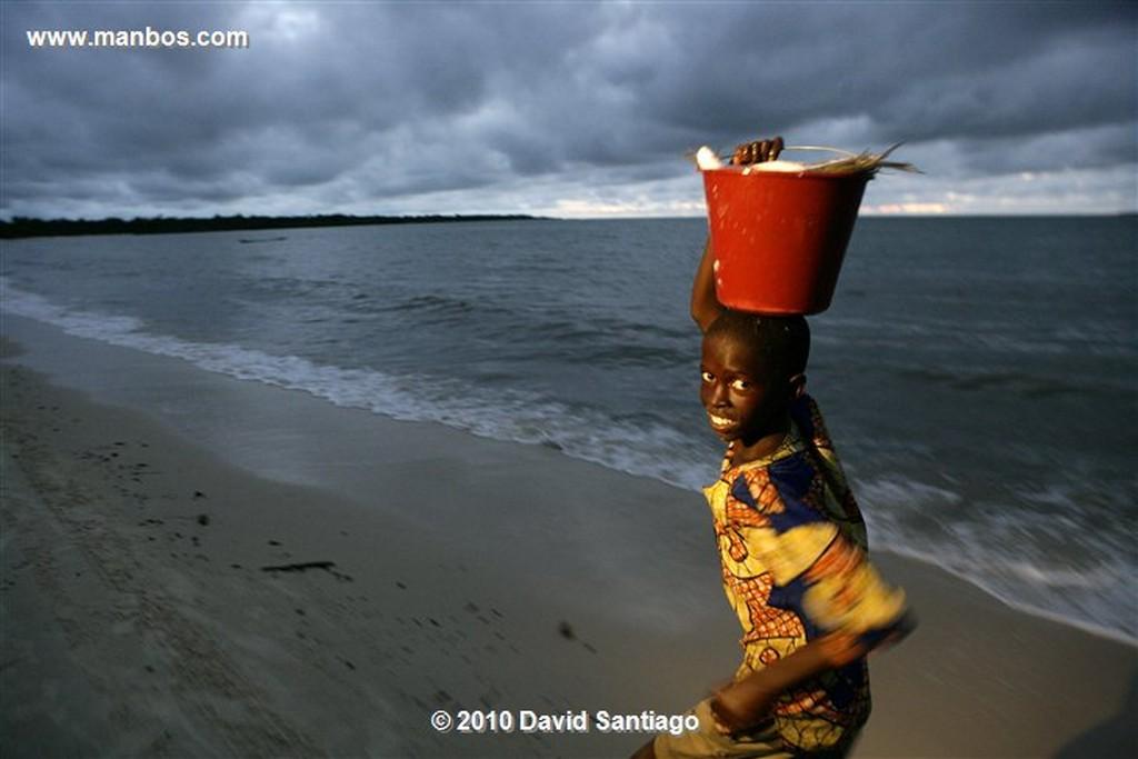 Islas Bijagos  Pesca en el Hotel Nuevo Orango Guinea Bissau  Islas Bijagos