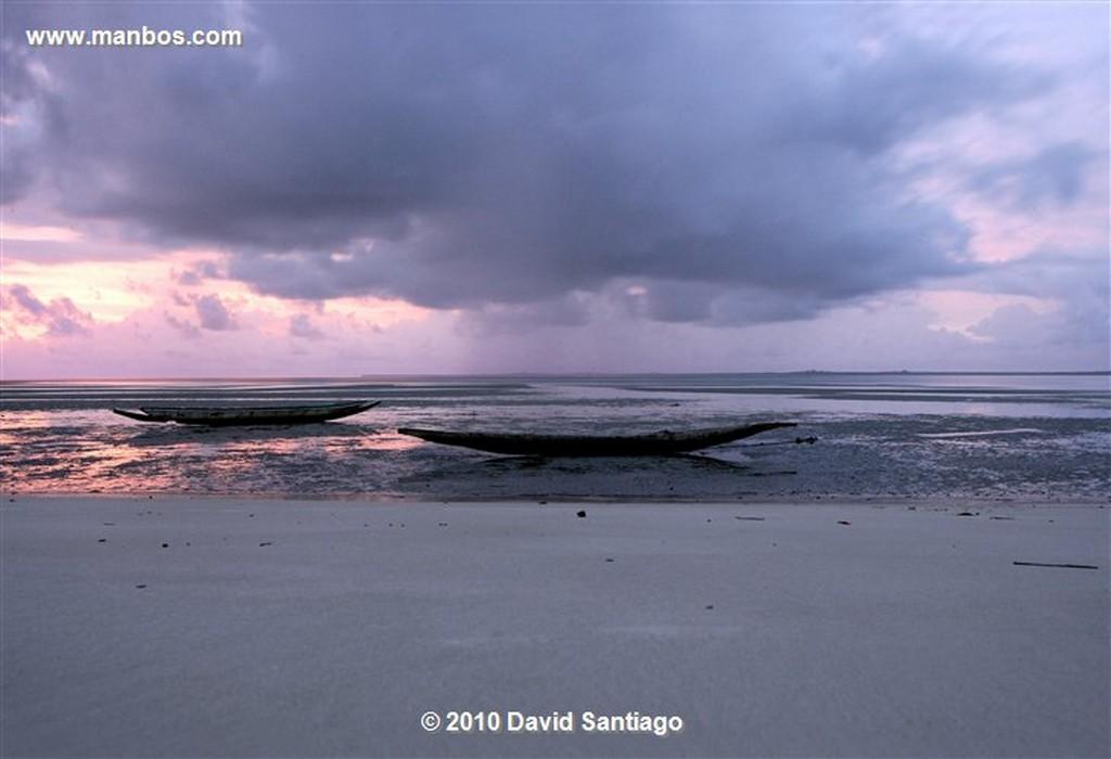 Islas Bijagos  Playa de Eticoga Parque Nacional Orango Grande Bijagos Guinea Bissau  Islas Bijagos