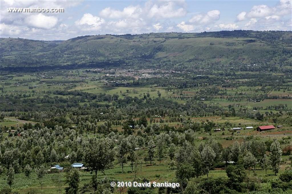 Cataratas Thompson Kikuyu Thompsons Falls Kenia Cataratas Thompson