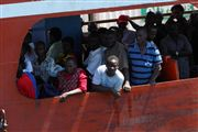 Ferry In Mombasa , Mombasa, Kenia