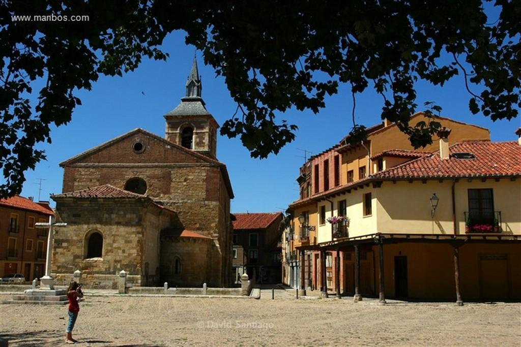 Leon Plaza de San Martin en Leon Leon