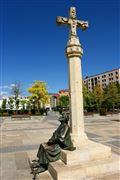 Plaza de San Marcos, Leon, España